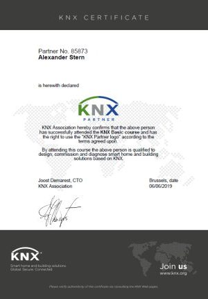 stern-knx-certificate