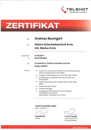 zertifikat-andreas-baumgart-telenot