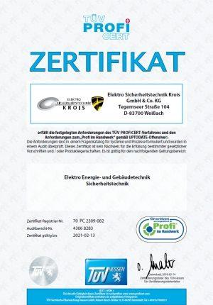 zertifikat-sicherheitstechnik
