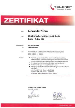 zertifikat-telenot-a-stern