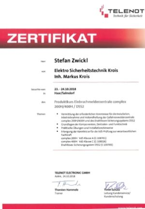zwickl-zertifikat